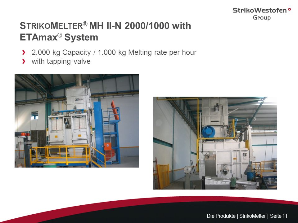 StrikoMelter® MH II-N 2000/1000 with ETAmax® System