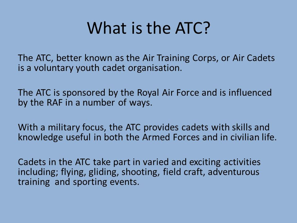 The air training corps ppt video online download 4 what maxwellsz