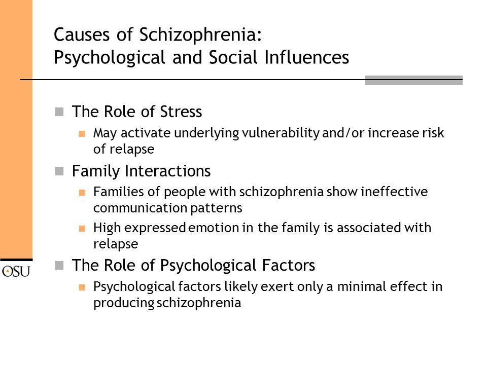 Schizophrenia Definition Psychology >> Schizophrenia Etiology And Treatment Ppt Download