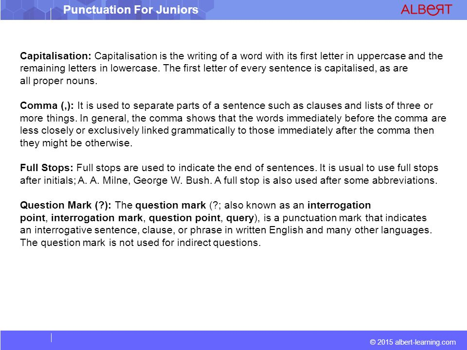 Punctuations Ppt Download