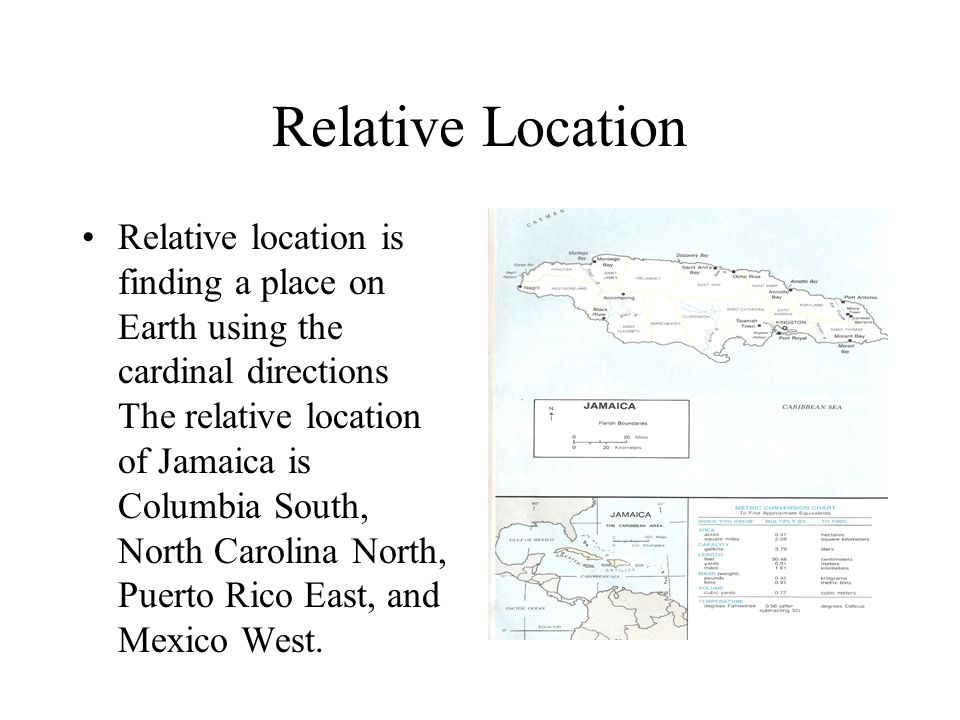5 themes of geography jamaica