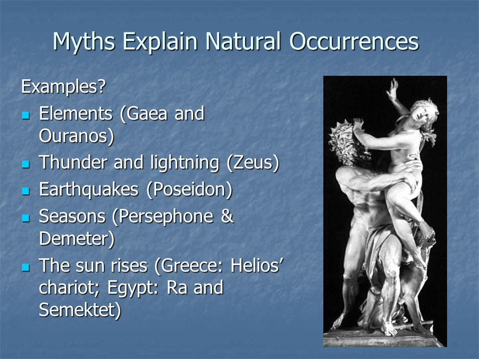examples of greek mythology in literature