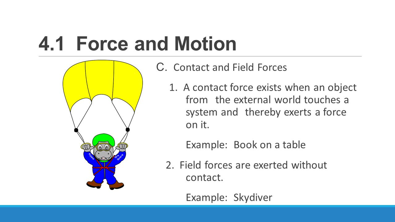 4 1 force and motion essential questions what is a force ppt