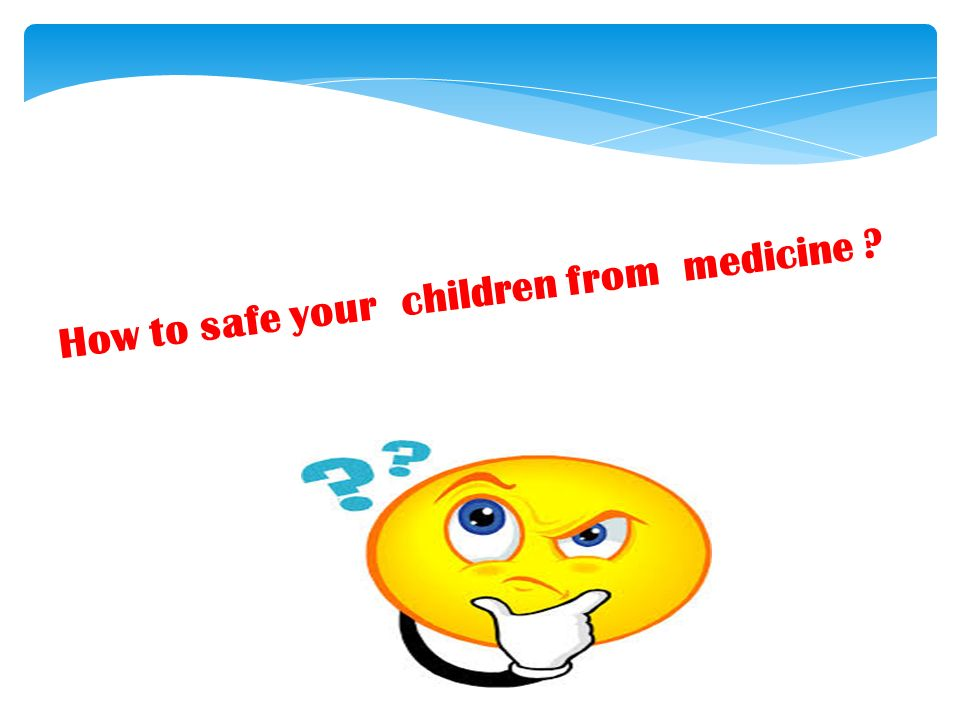 how to give your child medicine