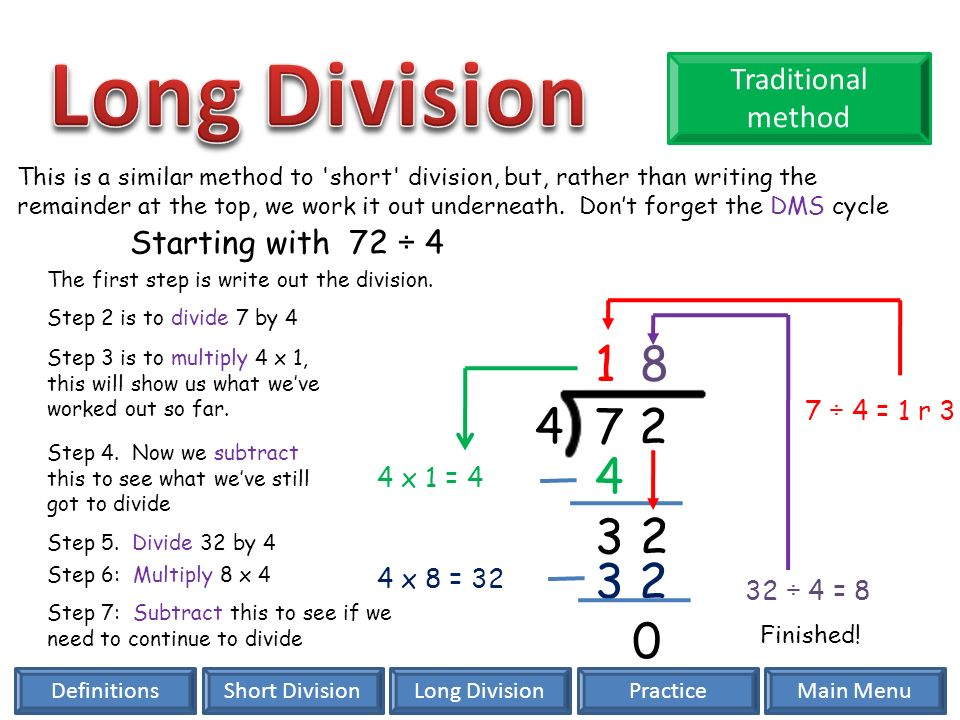 Division Short Division Long Division Key Vocabulary. - ppt ...