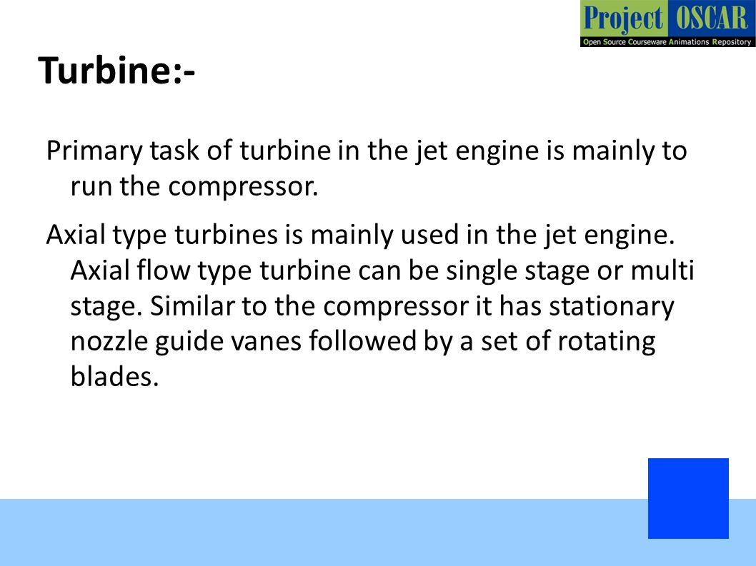 Turbojet Engine Rocket Ppt Download Diagram Showing The Operation Of An Axial Flow 19 Turbine
