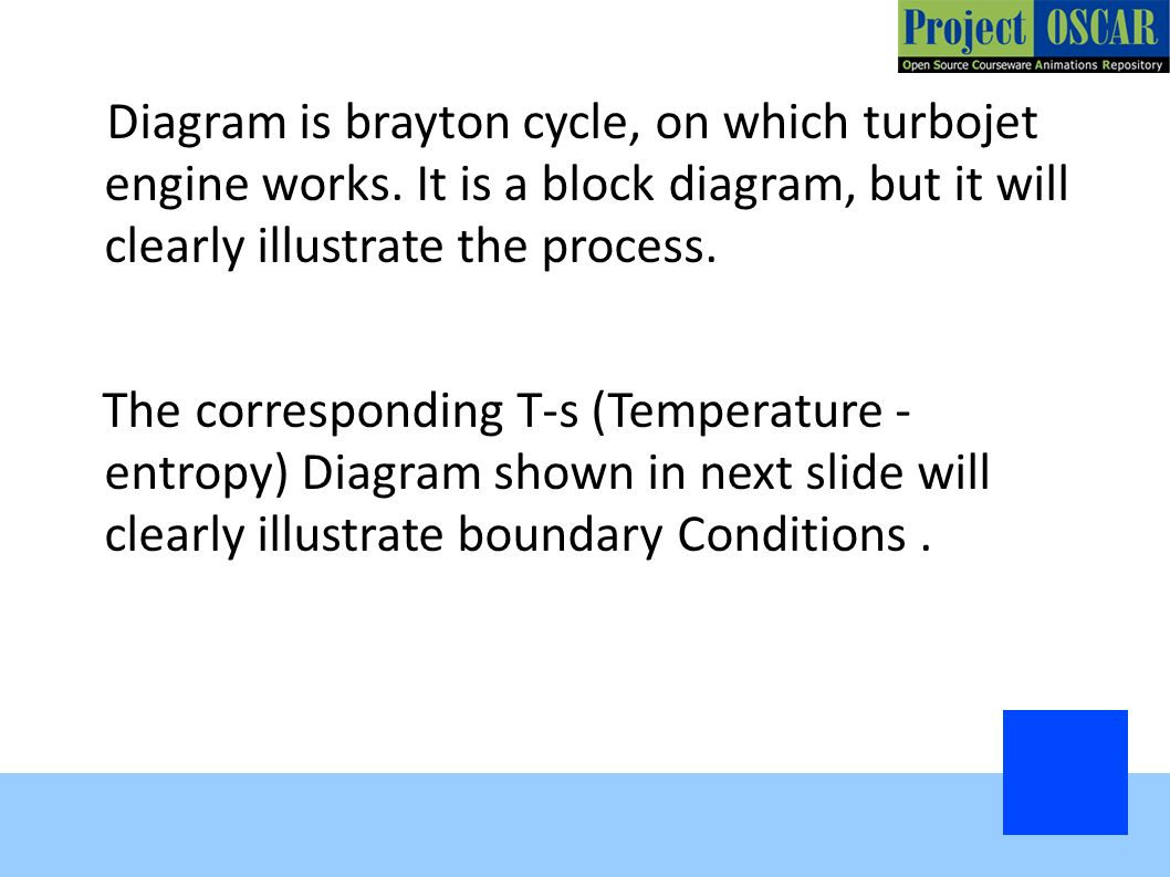 Turbojet Engine Rocket Ppt Download Diagram Is Brayton Cycle On Which Works
