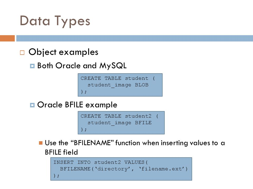 Sql DDL queries CS 260 Database Systems  - ppt video online download