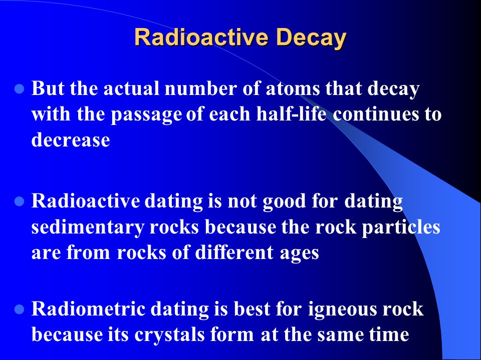 Isotopic dating of crystals