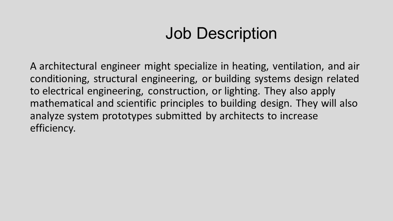 Architectural Engineering - ppt video online download