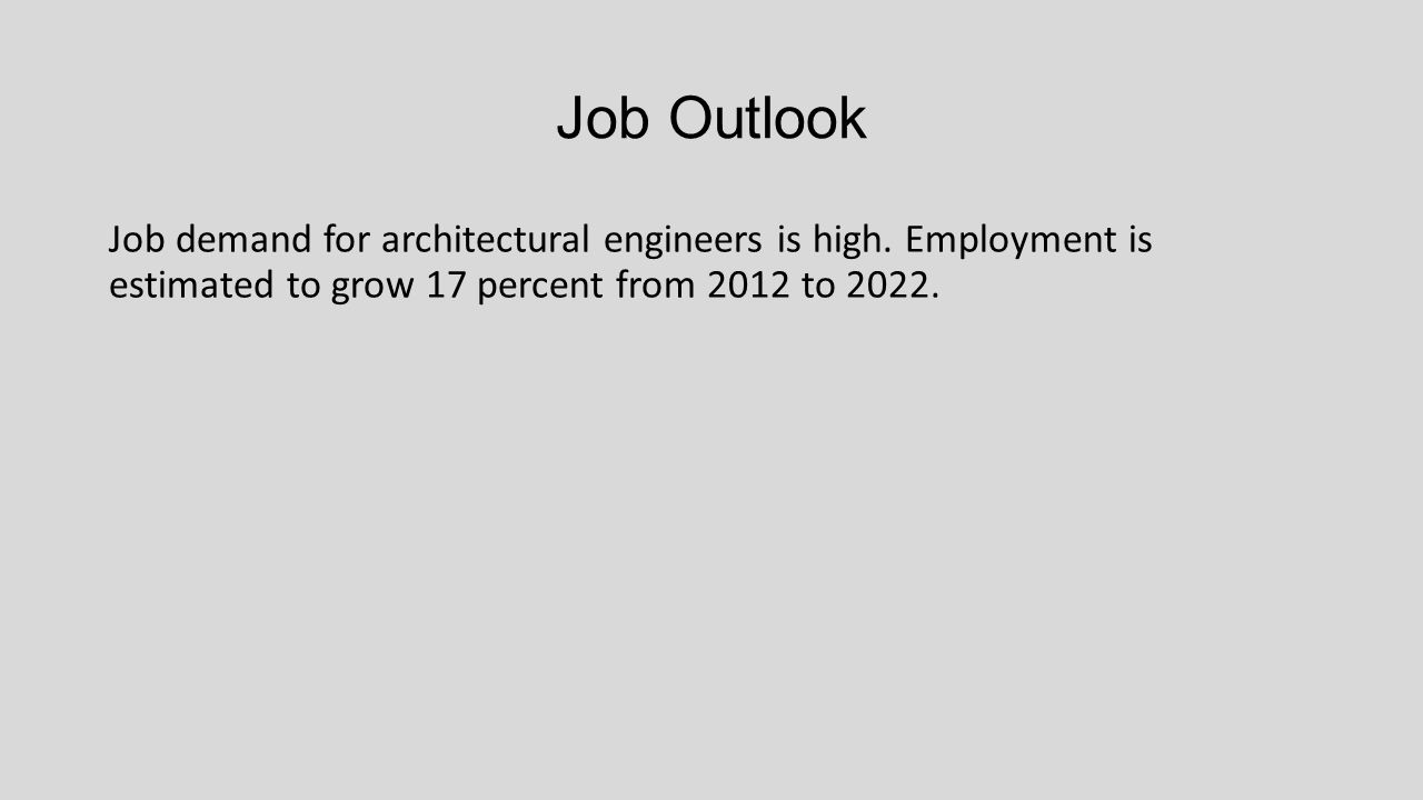 6 job outlook