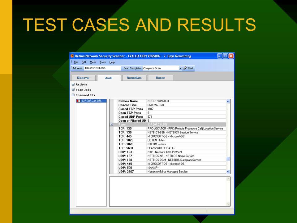 Retina Network Security Scanner - ppt download