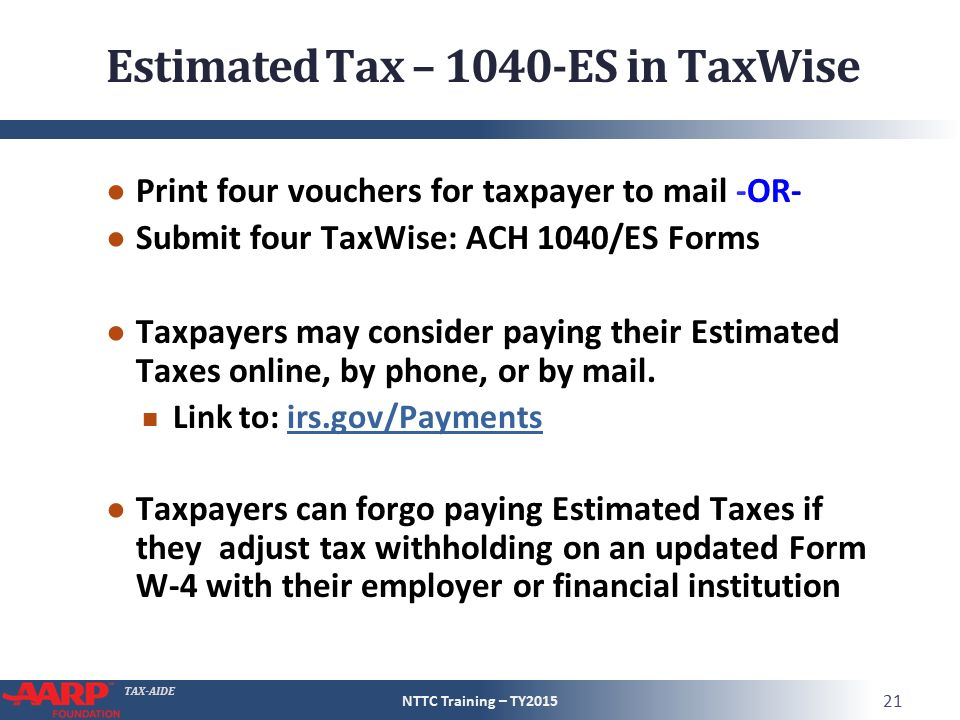 Concluding The Interview Ppt Video Online Download. Estimated Tax 1040es In Taxwise. Worksheet. 1040 Es Worksheet At Clickcart.co