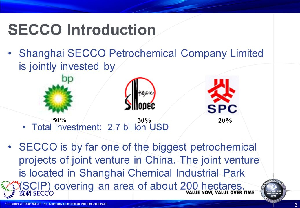 Plant Management Information System in SECCO - ppt video