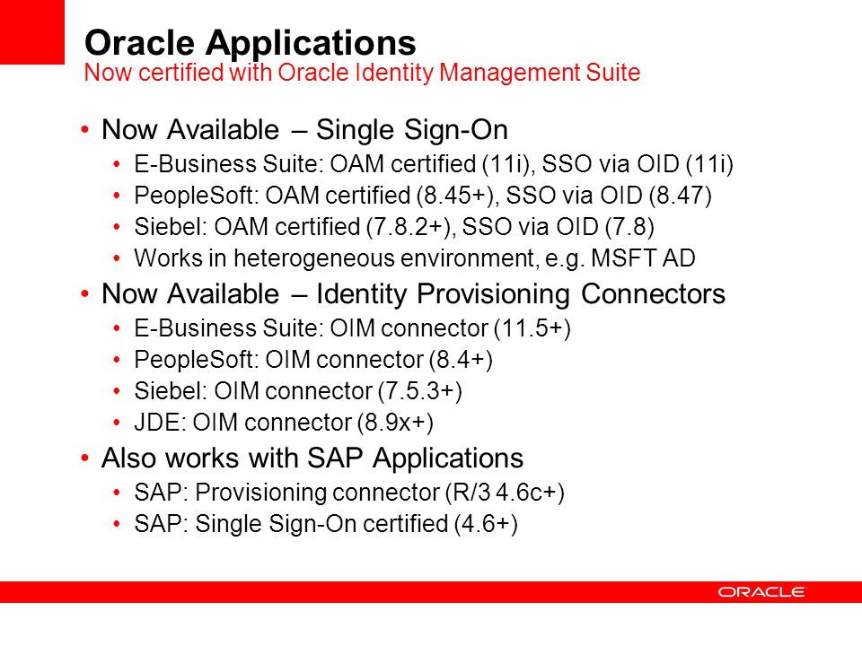Value of Fusion Middleware for Oracle Applications Customers - ppt