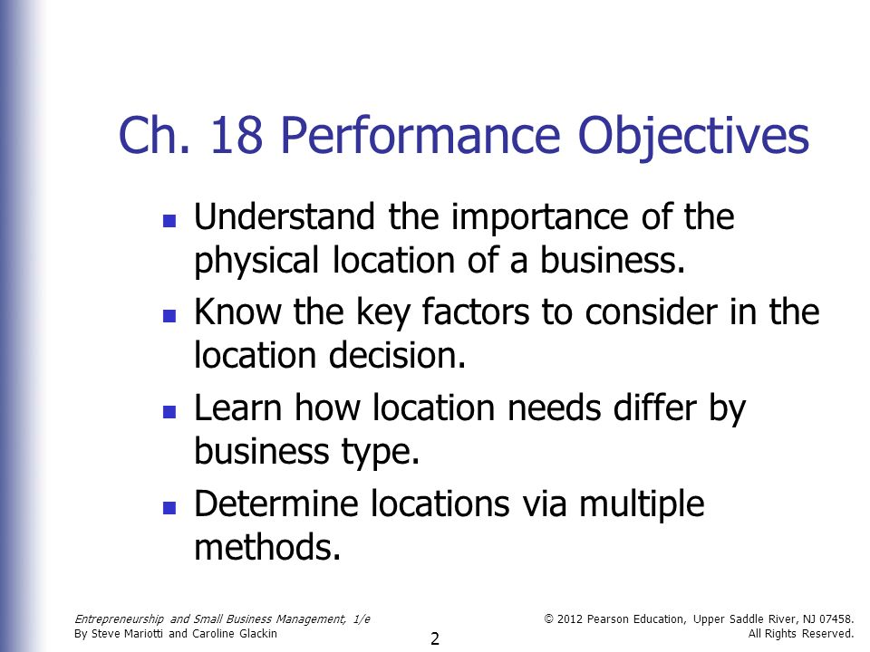 importance of location decision