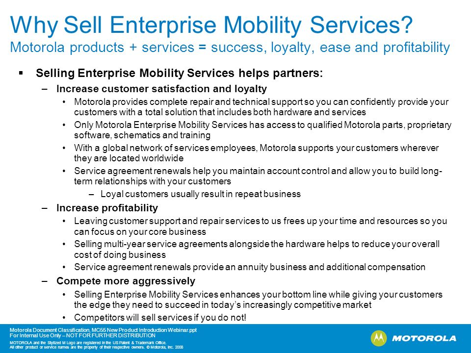 Why Sell Enterprise Mobility Services