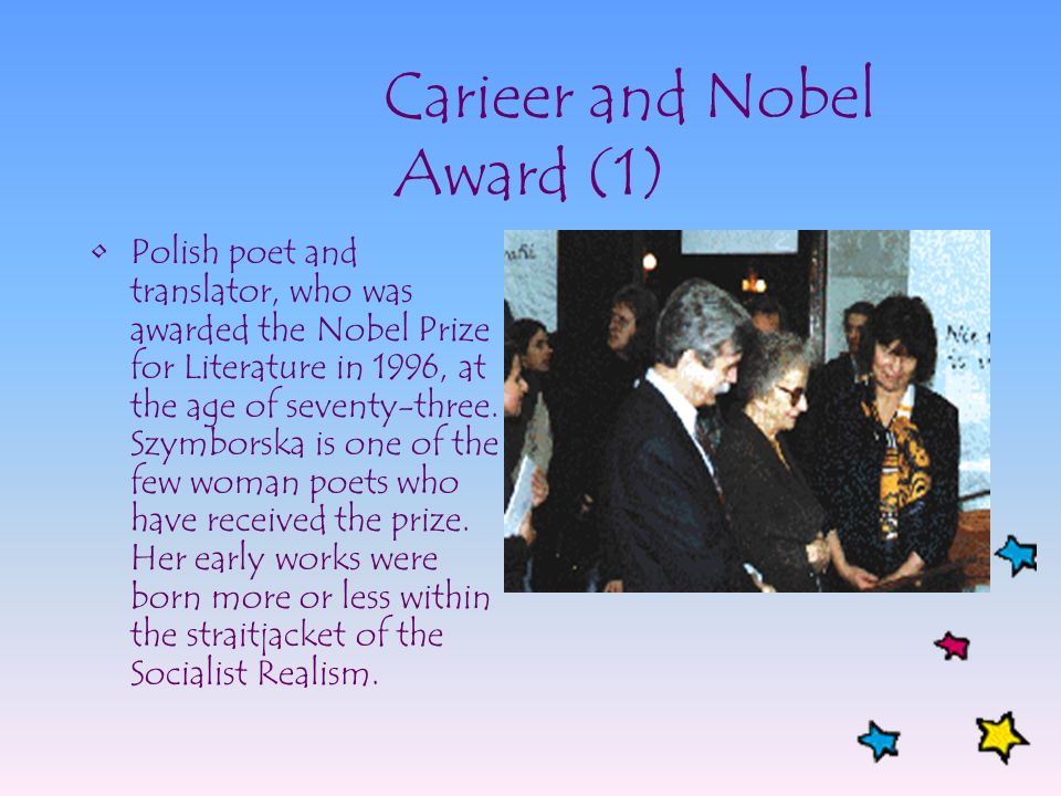 Carieer and Nobel Award (1)