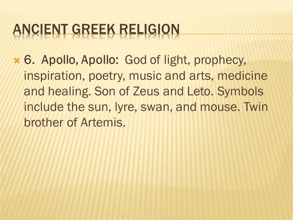 Ancient Greek Religion Ppt Video Online Download