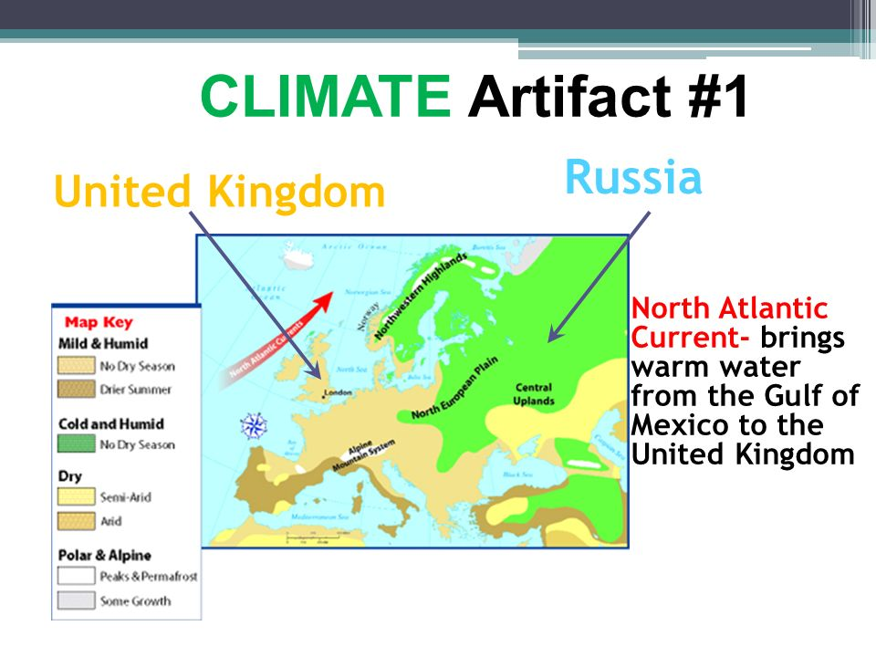 CLIMATE Artifact #1 Russia United Kingdom