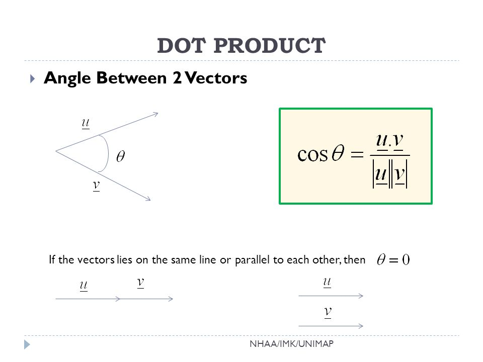 Dot Product Cross Product Applications Ppt Video Online Download