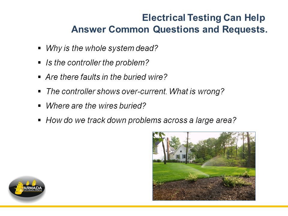TROUBLESHOOTING 2-WIRE CONTROLLED IRRIGATION SYSTEMS - ppt video