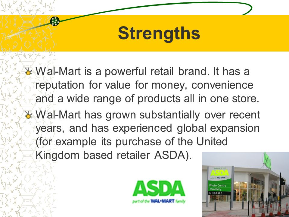 SWOT Analysis Wal-mart, Nike, and… - ppt video online download