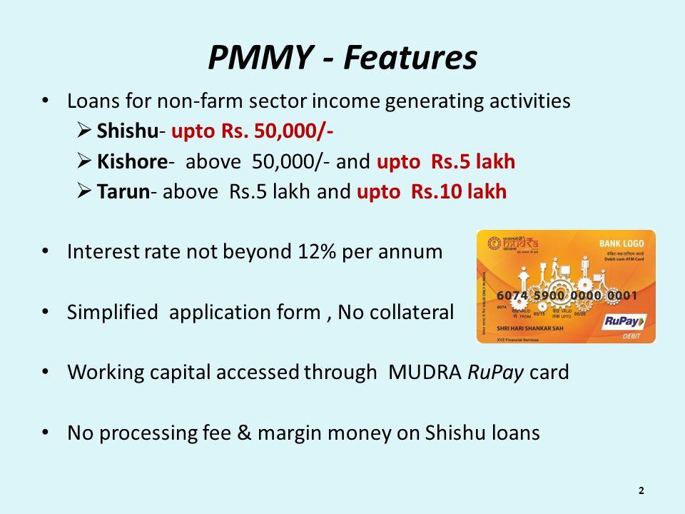 Pradhan Mantri Mudra Yojana (PMMY) - ppt video online download