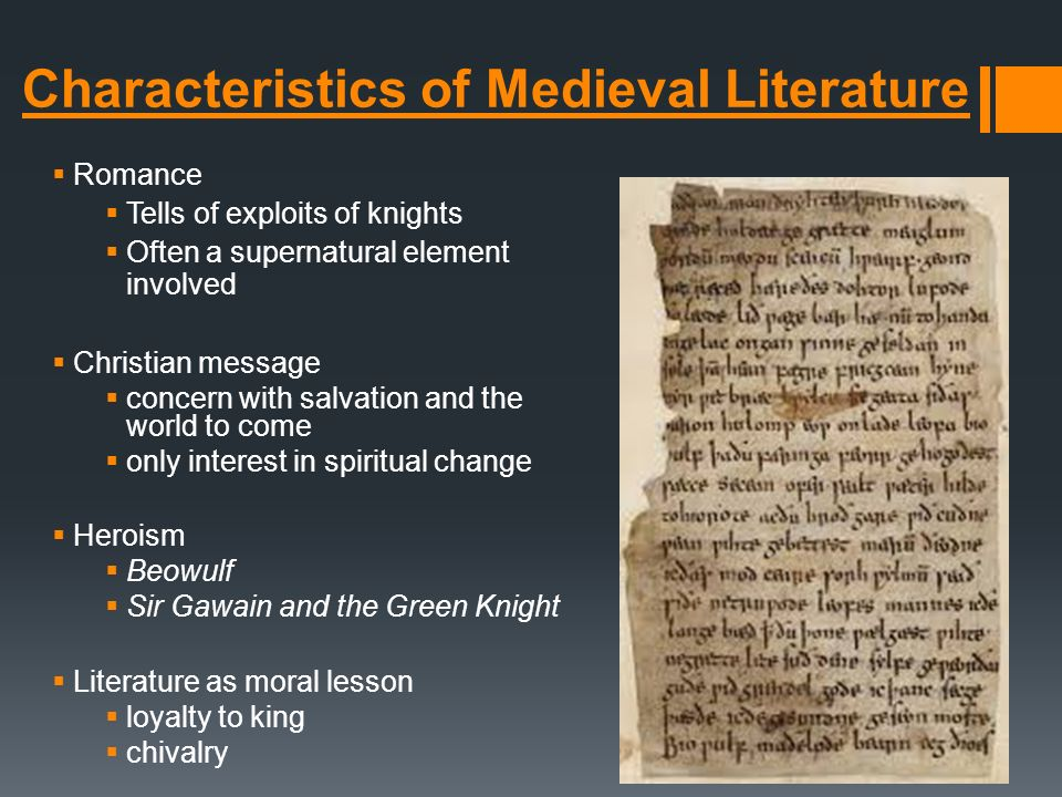 characteristics of medieval europe