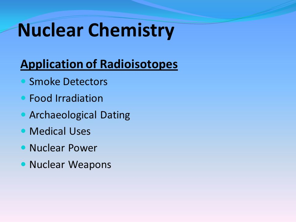 archaeological dating radioisotopes