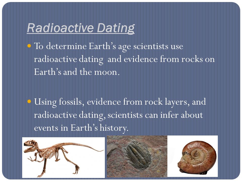 How do scientists use relative hookup to determine the ages of rocks or fossils