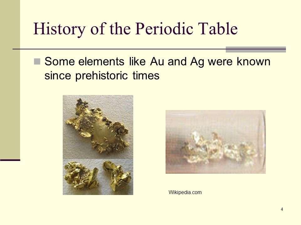 Periodic table periodic law ppt video online download history of the periodic table urtaz Choice Image