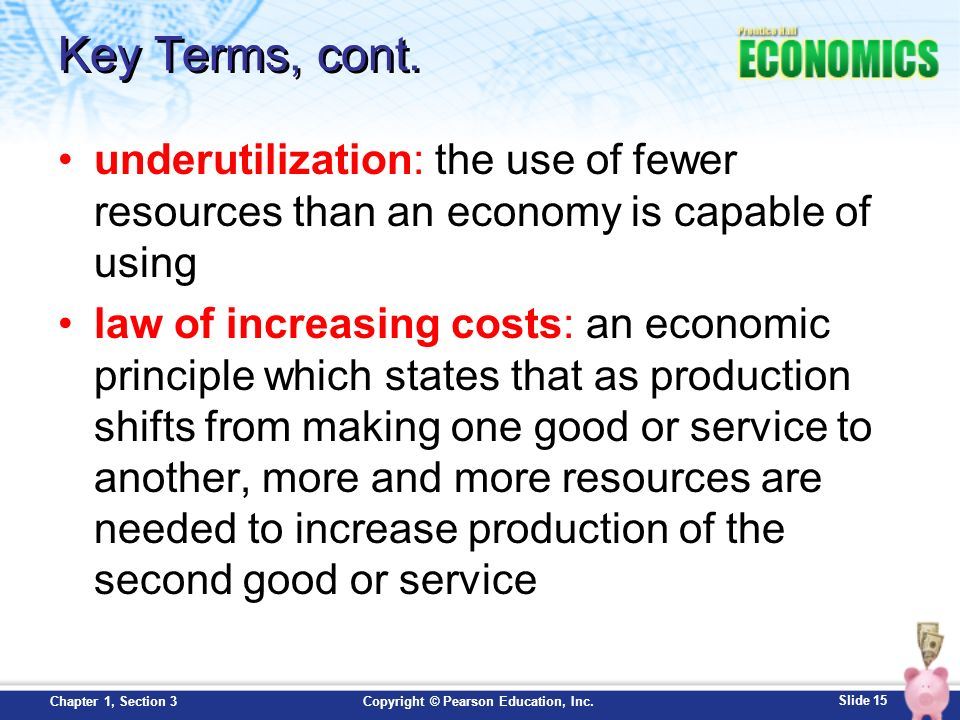 Ch 1 3: Production Possibilities Curve - ppt download