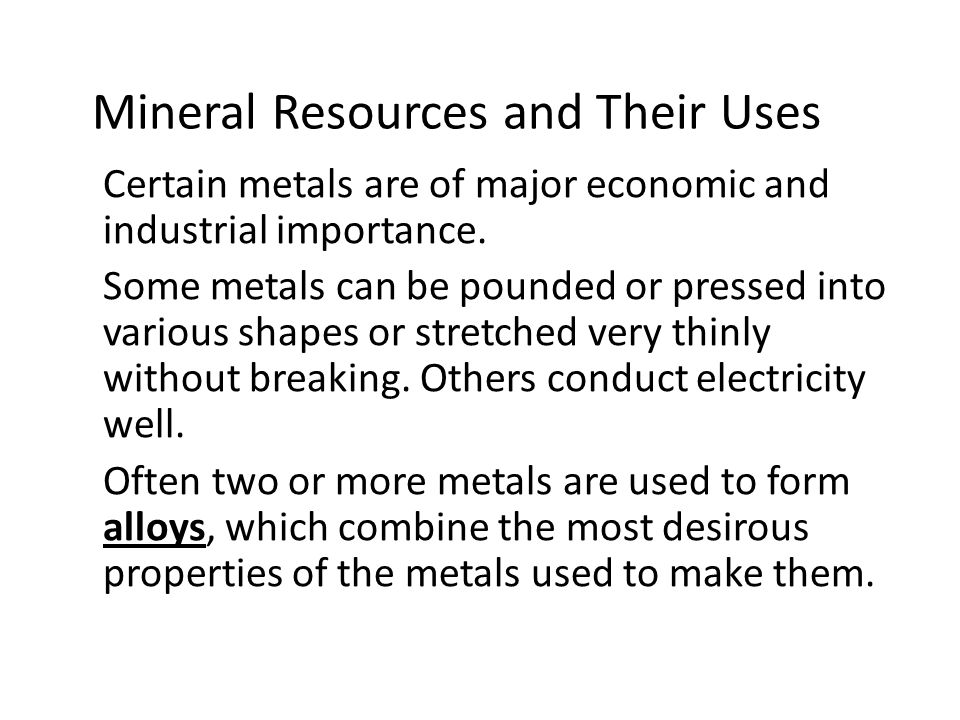 Mining and Mineral Resources - ppt video online download