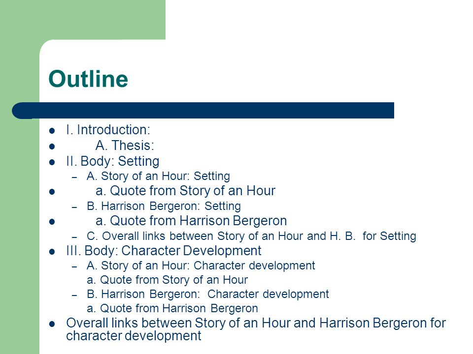 the story of an hour introduction