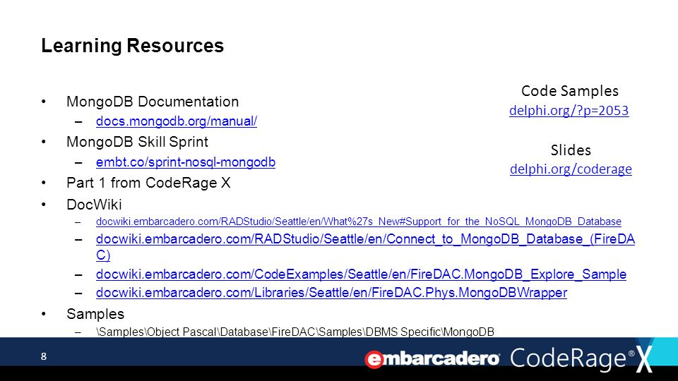 Advanced MongoDB & FireDAC - ppt video online download