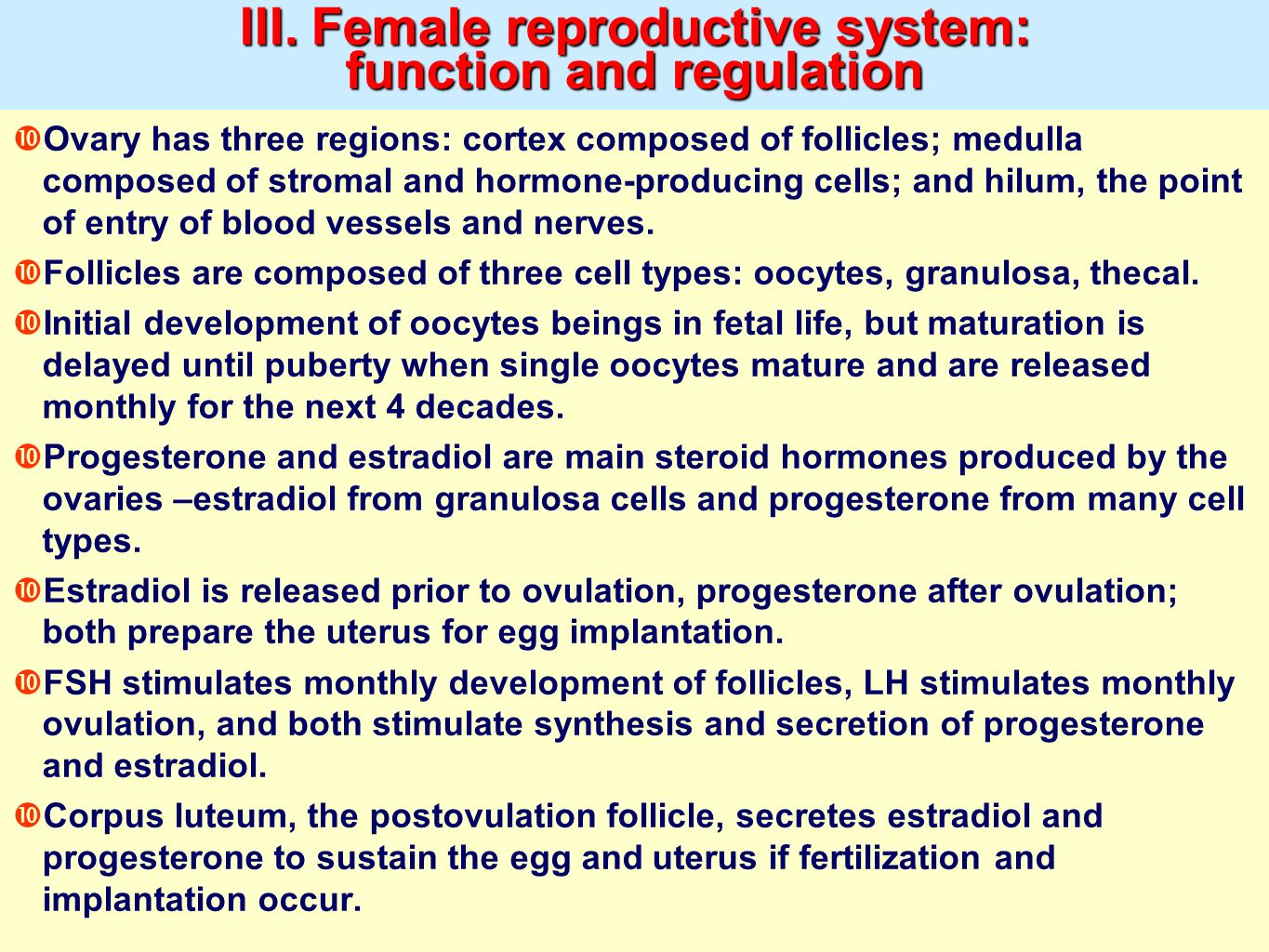 Reproductive Physiology Ppt Video Online Download