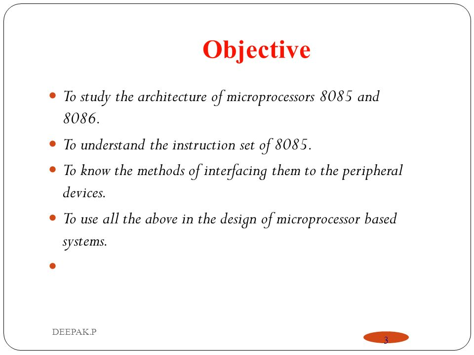 Embedded microprocessor importance and its real time applications.