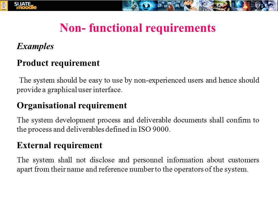 Week 3: Requirement Analysis & specification - ppt video
