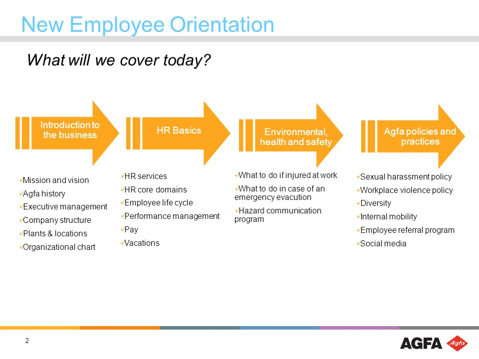 orientation handbook for new employee ppt download