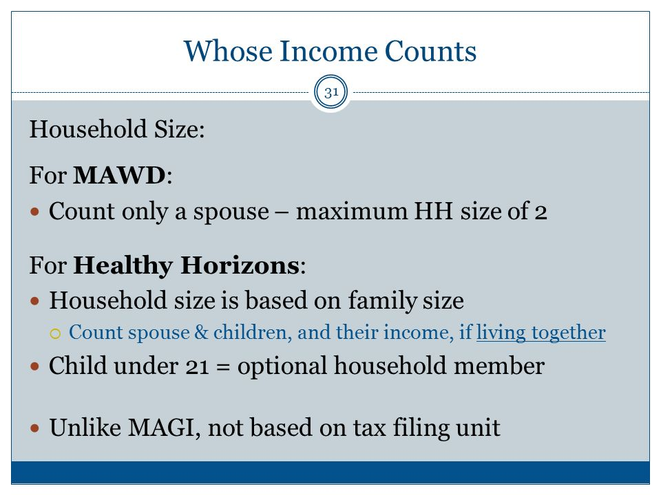 MAWD And other Disability-Related Medicaid Categories - ppt