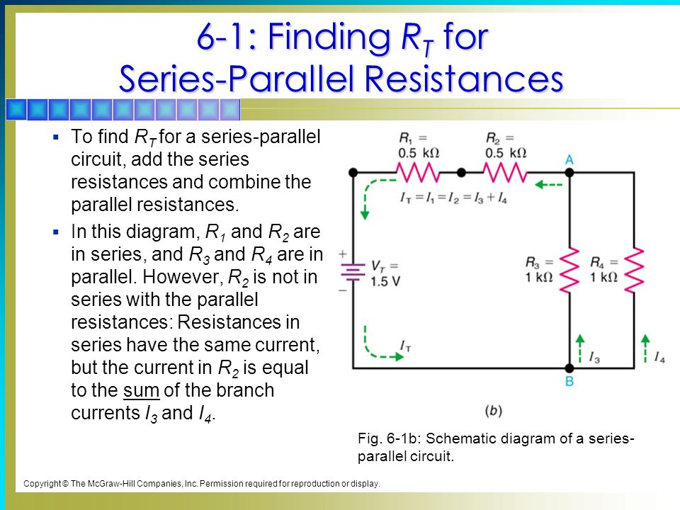 series parallel circuits ppt video online download6 1 finding rt for series parallel resistances