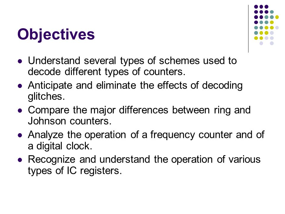 Counters and Registers - ppt video online download