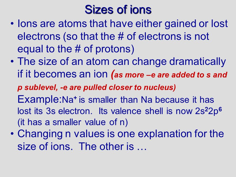 size of an atom