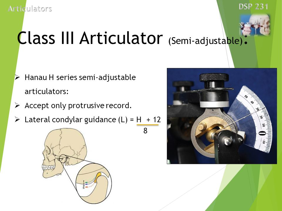 Dental articulator presented by dr tushar bhagat ppt video class iii articulator semi adjustable ccuart Images