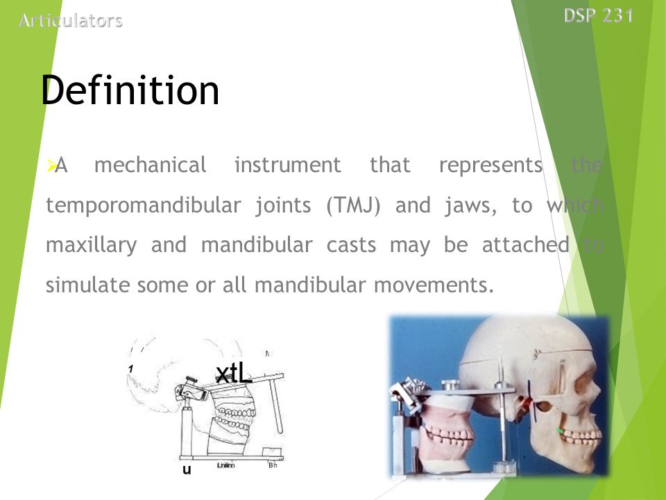 Dental articulator presented by dr tushar bhagat ppt video dsp 231 articulators definition ccuart Images