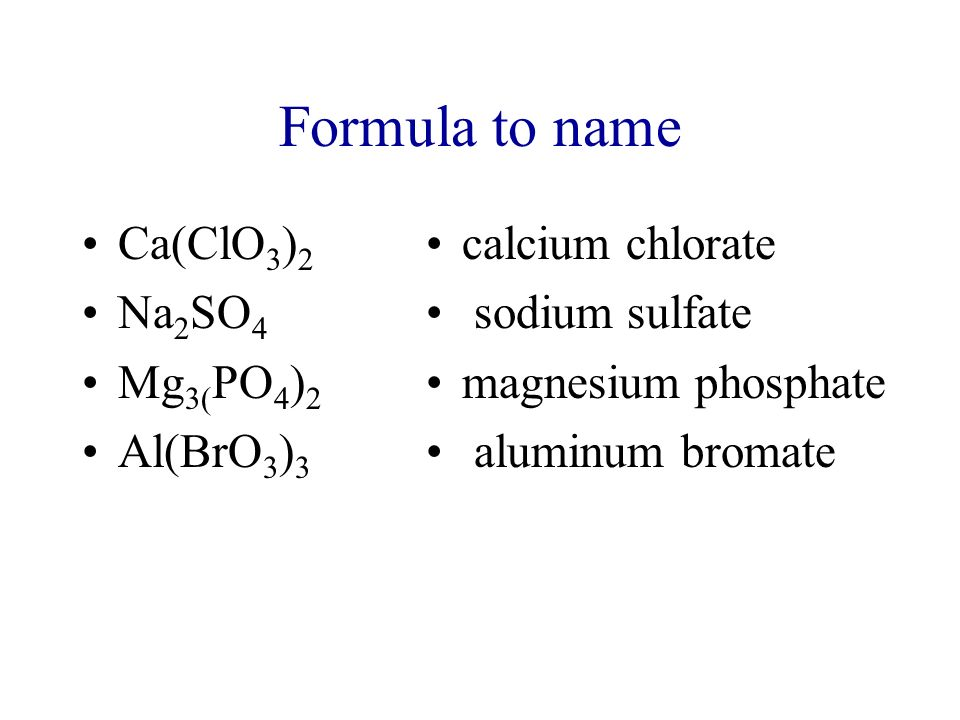 the nomenclature of inorganic compounds the Common names  some compounds have been known for so long that a systematic nomenclature cannot compete with well-established common names examples of compounds for which common names are used include water (h 2 o), ammonia (nh 3), and methane (ch 4.