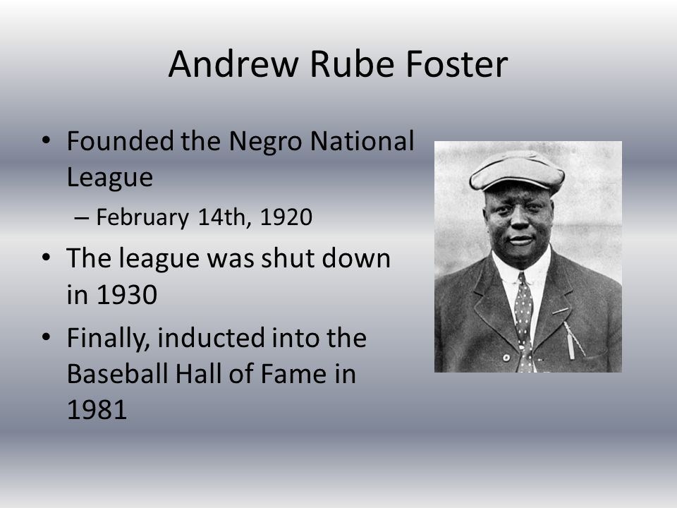 The Negro Leagues Ppt Video Online Download