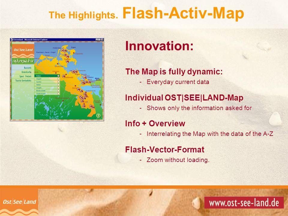 The Highlights. Flash-Activ-Map