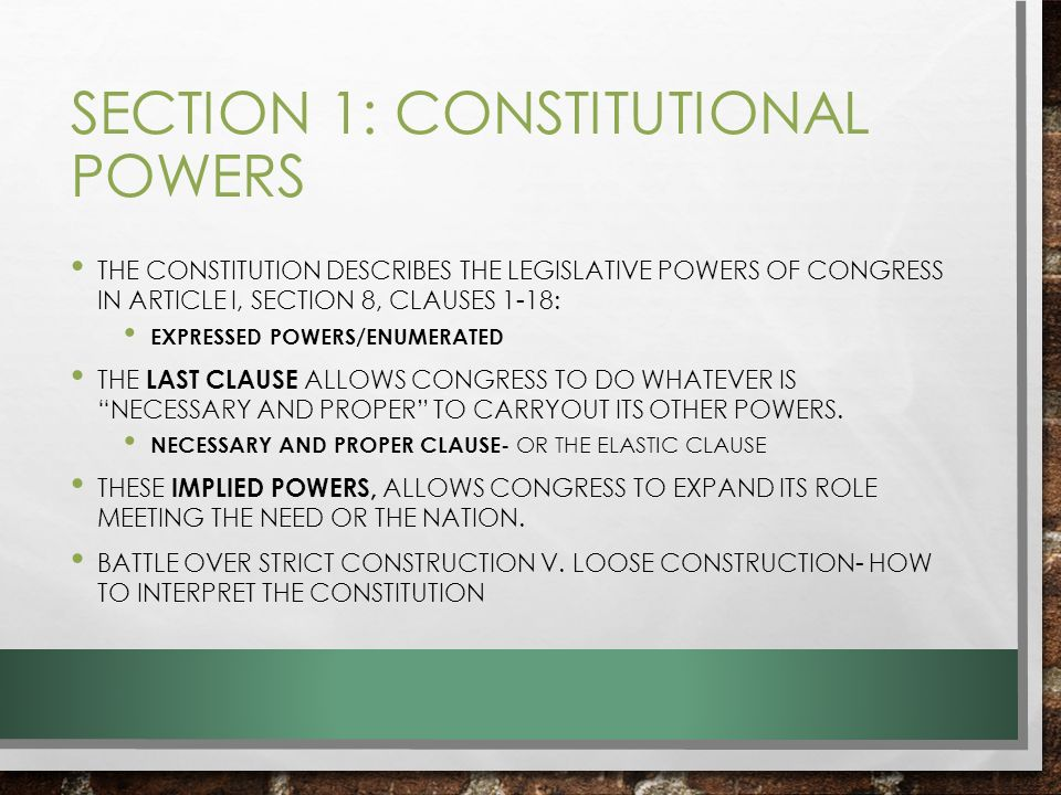Government Ch 6 Congressional Powers Ppt Video Online Download. Worksheet. How A Bill Bees A Law In Congress Worksheet At Mspartners.co